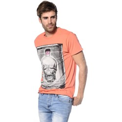 Vêtements Homme T-shirts & Polos Deeluxe T-shirt Crystal orange