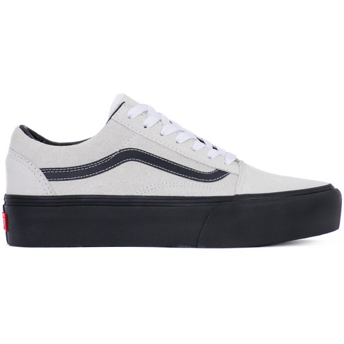 vans old skool platform bianco chaussures baskets basses femme 69 00. Black Bedroom Furniture Sets. Home Design Ideas