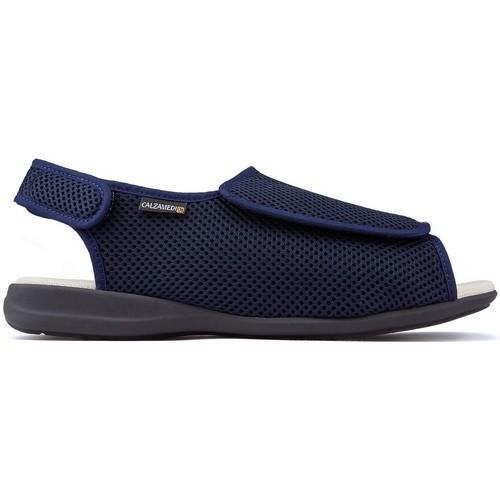 Chaussures Sandales et Nu-pieds Calzamedi Chaussures  confortable e BLEU