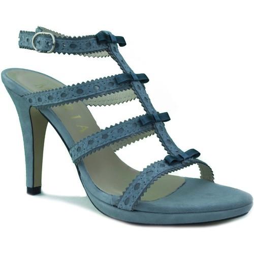 Chaussures Femme Sandales et Nu-pieds Marian Talons  parti GRIS