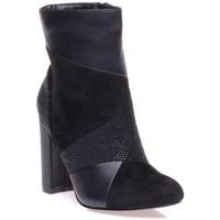 Chaussures Femme Bottines Bronx 0660701 Noir