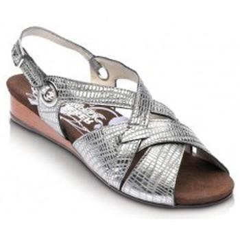 Chaussures Femme Sandales et Nu-pieds Drucker Calzapedic sandale confortable GRIS