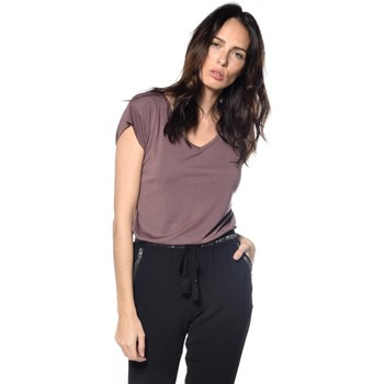Vêtements Femme T-shirts & Polos Deeluxe T-shirt Sweet raisin