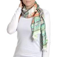 Accessoires textile Femme Echarpes / Etoles / Foulards Qualicoq Echarpe légère Morgon Multicolore multicolore