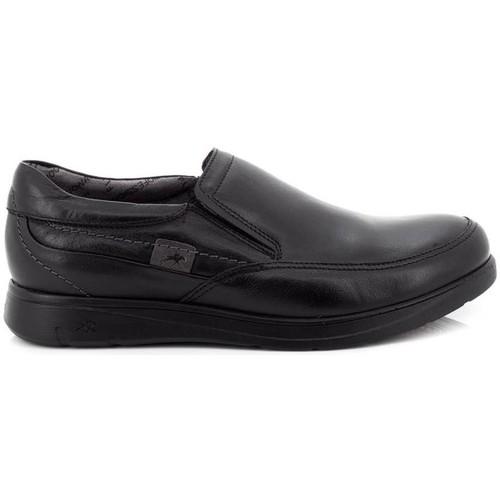 Fluchos F0051-MASA Noir - Chaussures Mocassins Homme