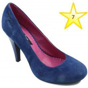 Chaussures Femme Escarpins Pepe jeans jeunes chaussures à talons BLEU