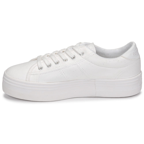 Sneaker Plato Baskets Femme No Name Basses Blanc X80nwOPkZN