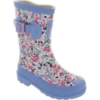 Chaussures Fille Bottes de pluie Joules JNRGIRLSWLY Rose