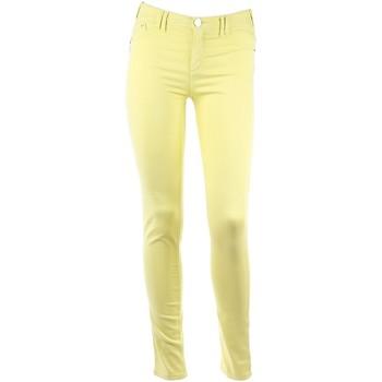 Vêtements Femme Pantalons 5 poches Armani jeans ARJ28 LIME Jaune