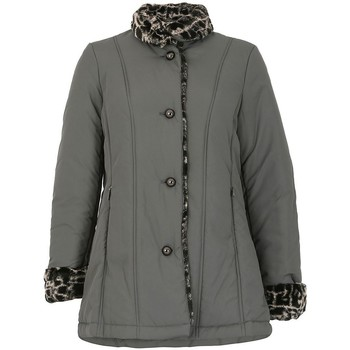 Vêtements Femme Doudounes David Barry FemmesFourre trim Impermeable Grey