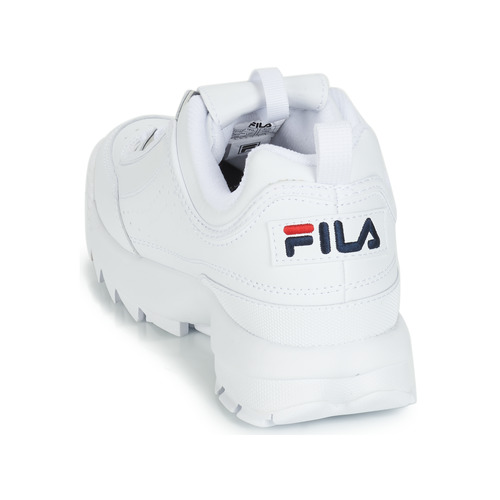 Low Blanc Fila Baskets Chaussures Homme Disruptor Basses N8nvwm0