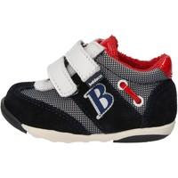 Chaussures Garçon Baskets mode Balducci sneakers multicolor daim textile AG929 multicolor