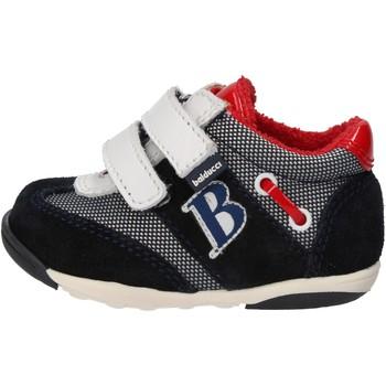 Chaussures Garçon Baskets mode Balducci chaussures garçon  sneakers multicolor daim textile AG929 multicolor
