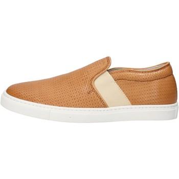 Chaussures Femme Slip ons K852 & Son slip on cuoio cuir AG953 marron
