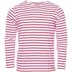 Vêtements Homme T-shirts manches longues Armor Lux - tee-shirt BLANC