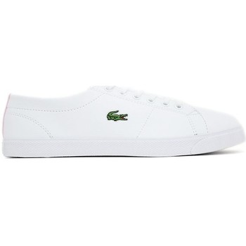 Chaussures Femme Baskets basses Lacoste MARCEL LCR blanc
