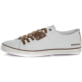 Chaussures Homme Baskets mode Chaussures Redskins RIZZOLI BLANC COGNAC Blanc