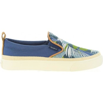 Chaussures Enfant Baskets mode Pepe jeans PBS30273 TRAVELER Azul