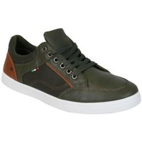 Chaussures Homme Baskets basses Kebello Baskets B107 vert