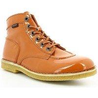 Chaussures Femme Boots Kickers KICK LEGEND VERNIS Orange
