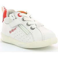 Chaussures Enfant Baskets basses Kickers CHICAGO BB/ Blanc
