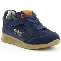 Chaussures Enfant Baskets basses Kickers KICK 18 BB Marine