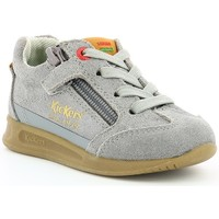 Chaussures Enfant Baskets basses Kickers KICK 18 BB Gris