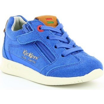 Chaussures Enfant Baskets basses Kickers KICK 18 BB ROYAL Bleu