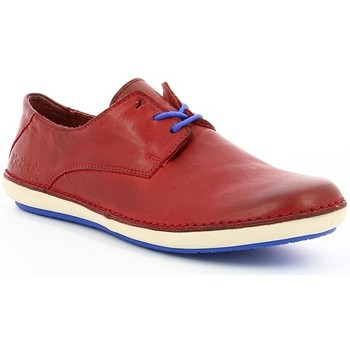 Chaussures Femme Derbies Kickers FOWLLING Rouge