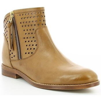 Chaussures Femme Boots Kickers TUZIP Camel