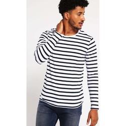 Vêtements Homme T-shirts manches longues Minimum RAMA Noir et Blanc