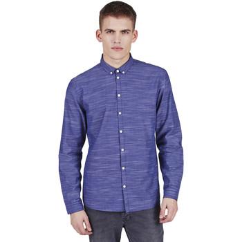 Vêtements Homme Chemises manches longues Minimum CRESCENT Bleu
