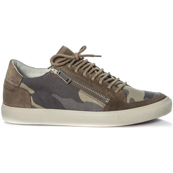 Chaussures Homme Baskets mode Antony Morato MMFW00929 / 4029 Camouflage