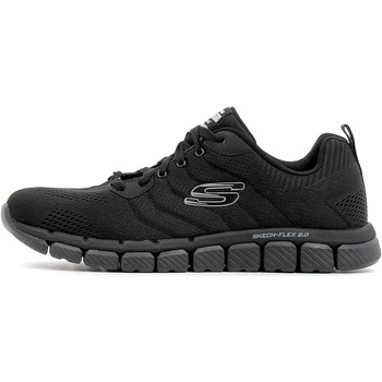 Chaussures Homme Baskets basses Skechers Skech-Flex 2.0 Milwee Black