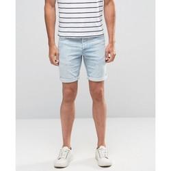 Vêtements Homme Shorts / Bermudas Minimum SAMDEN Bleu Clair