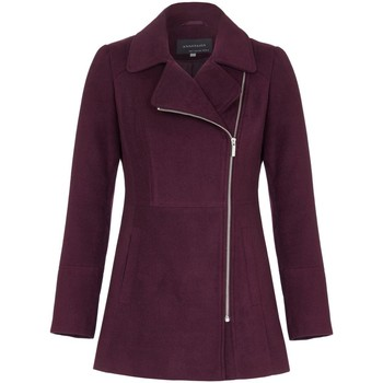 Vêtements Femme Manteaux Anastasia Veste d'hiver courte à glissière Red