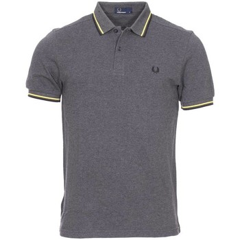 Vêtements Homme Polos manches courtes Fred Perry - polo GRIS