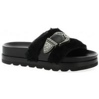 Chaussures Femme Sandales et Nu-pieds Essedonna Nu pieds cuir Noir