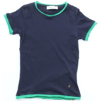 Vêtements Enfant T-shirts manches courtes Manuel Ritz Junior MR0255 Bleu