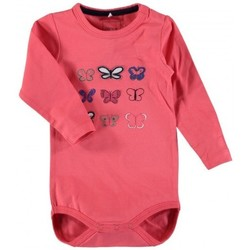 Vêtements Enfant Bodys Name It Kids Body Gry Calypso Coral Rose