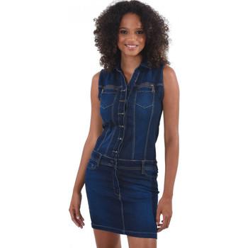 Vêtements Femme Robes Kaporal Robe Femme Eva Bleu Bleu
