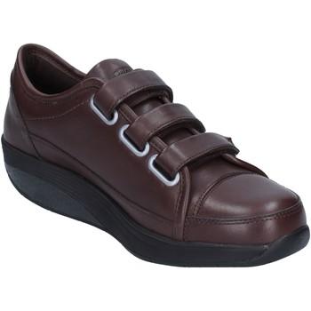 Mbt Femme Sneakers Marron Cuir...