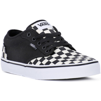 Chaussures Homme Baskets mode Vans ATWOOD CHECKBOARD Nero