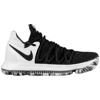Chaussures Homme Baskets basses Nike Zoom KD 10 Blanc-Noir