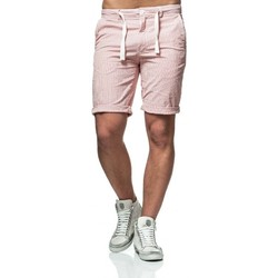 Vêtements Homme Shorts / Bermudas Minimum BOWMAN Blanc Rouge