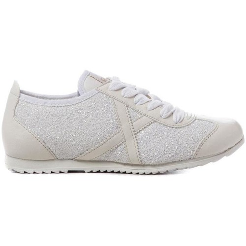 Munich Fashion OSAKA 313 Blanc - Chaussures Basket Femme