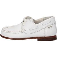 Chaussures Garçon Baskets mode Balducci chaussures garçon  sneakers blanc cuir AG923 blanc