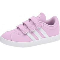 Chaussures Fille Baskets basses adidas Originals Chaussure rose fille VL Court 2.0 CMF rose