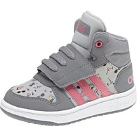 Chaussures Fille Baskets montantes adidas Originals Chaussure bébé fille VS Hoops Mid 2.0 Gris