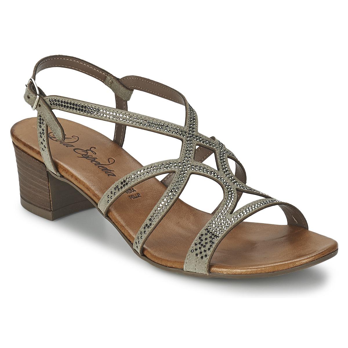 Sandale Lola Espeleta GUITARE Gris